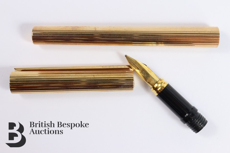S T Dupont 18ct Gold Ink Pen - Image 2 of 3
