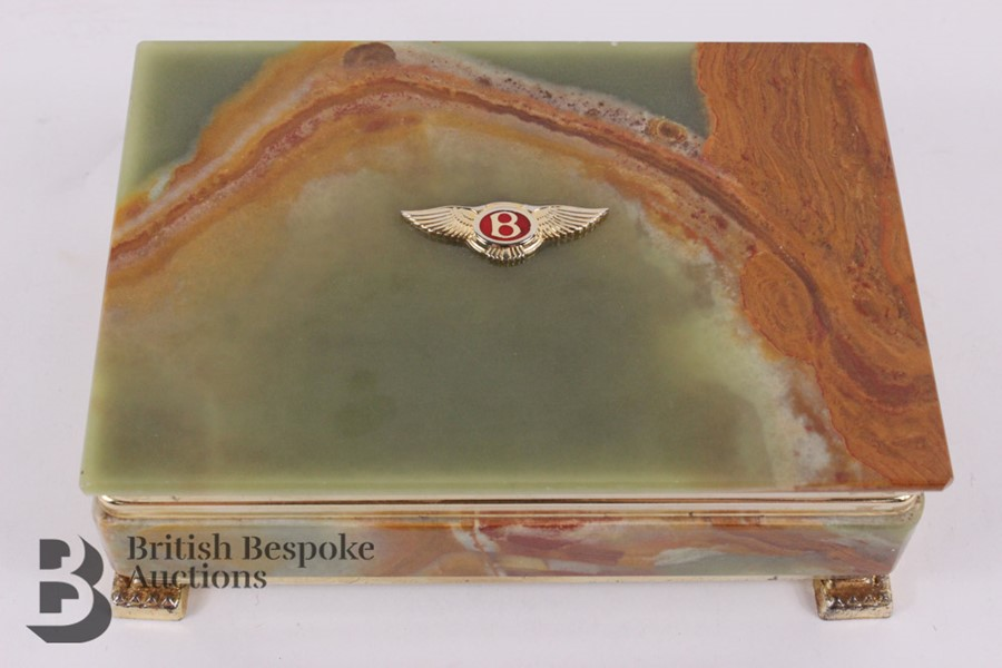 Bentley: 1950's Showroom Desk Top Cigarette Box - Image 2 of 8