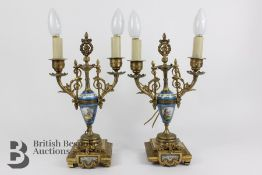Pair of French Lamp Bases