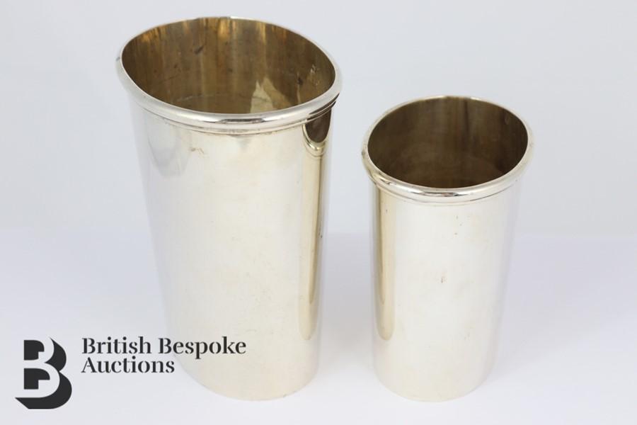 Swedish Silver Beakers - Image 2 of 4