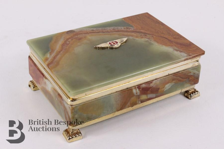 Bentley: 1950's Showroom Desk Top Cigarette Box - Image 4 of 8