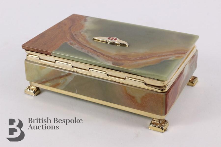 Bentley: 1950's Showroom Desk Top Cigarette Box - Image 5 of 8