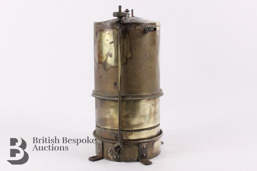Rare Brass Running Board Mounted Acetylene Lamps Generator - Image 6 of 7