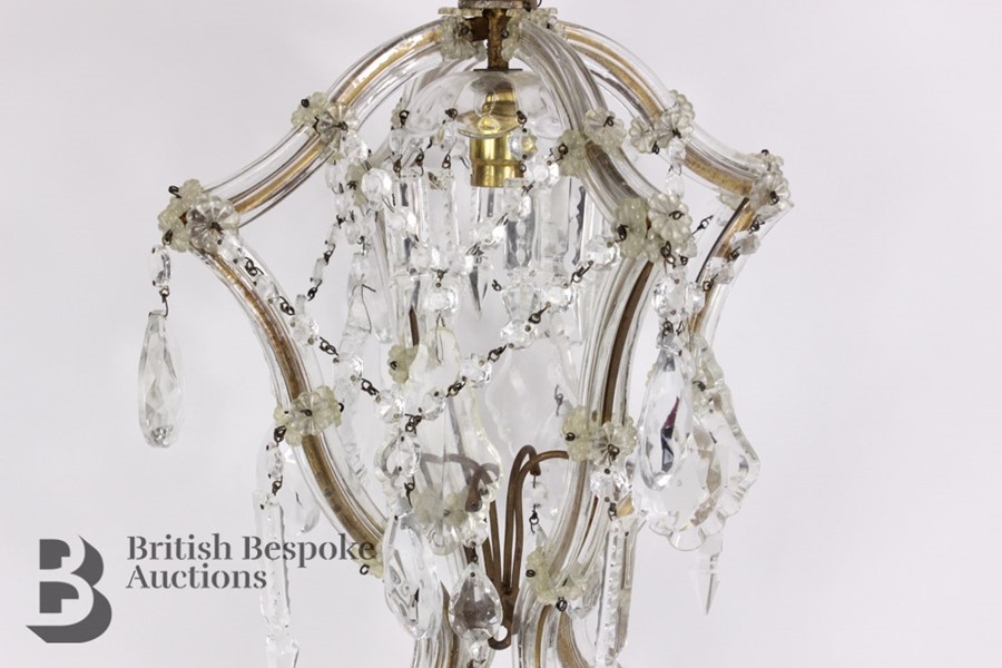 Pair of 20th Century Lantern Chandeliers - Image 3 of 5