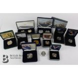 GB Silver Proof Anniversary Coins