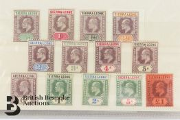 Quantity of GB and All World Stamps