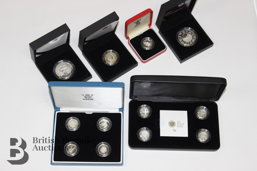 Royal Mint Silver Proof Coins - Image 4 of 4