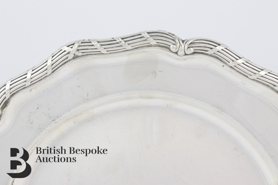 Swedish Silver Platter - Image 3 of 5