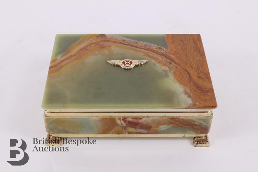 Bentley: 1950's Showroom Desk Top Cigarette Box - Image 3 of 8