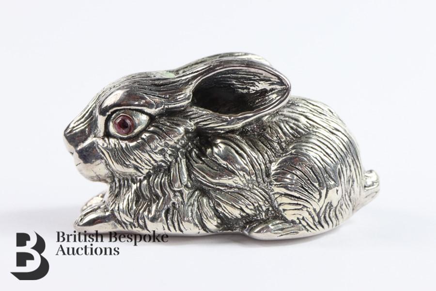 Large Silver Rabbit