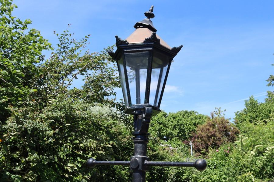 Victorian Cast Metal Street Light - Image 2 of 4