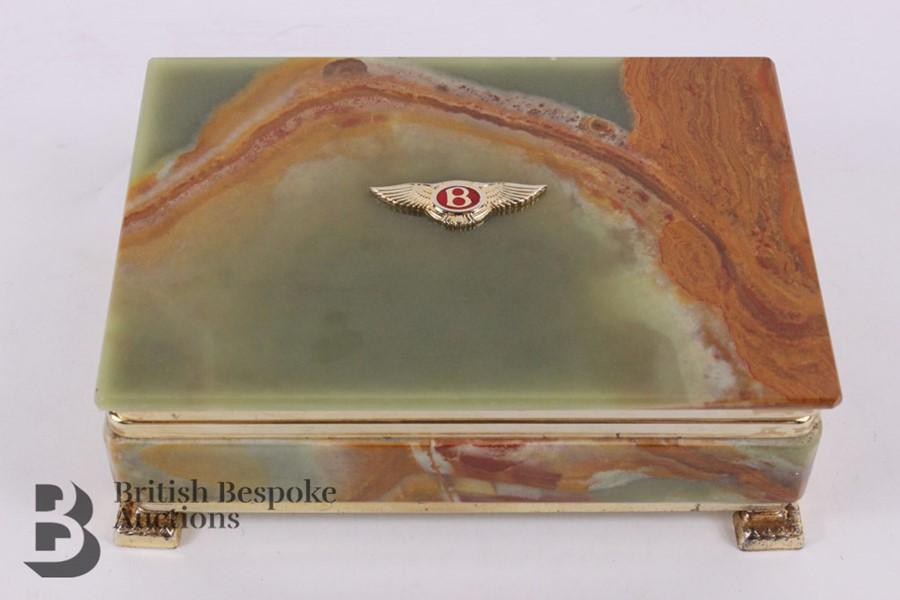 Bentley: 1950's Showroom Desk Top Cigarette Box