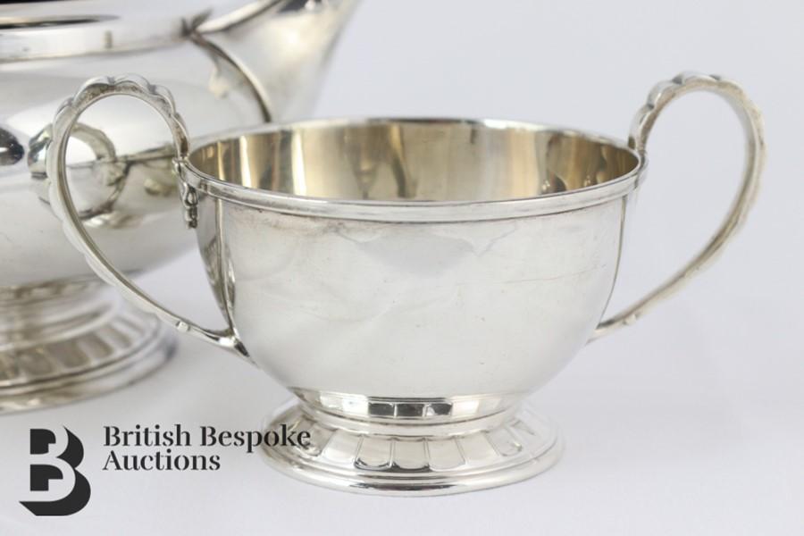 Silver Tea Trio - Image 3 of 6