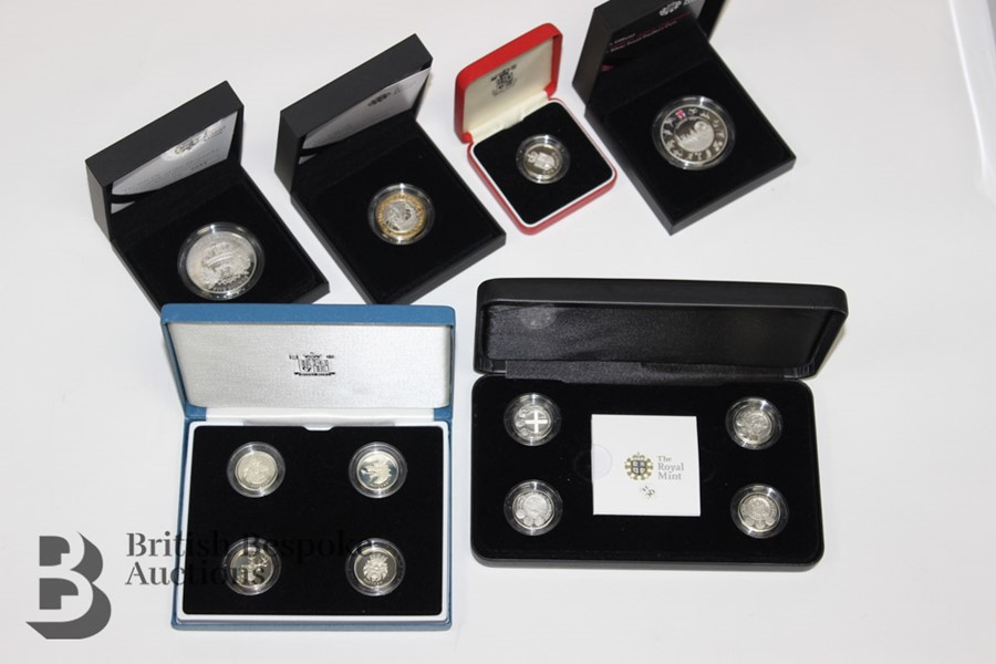 Royal Mint Silver Proof Coins - Image 2 of 4
