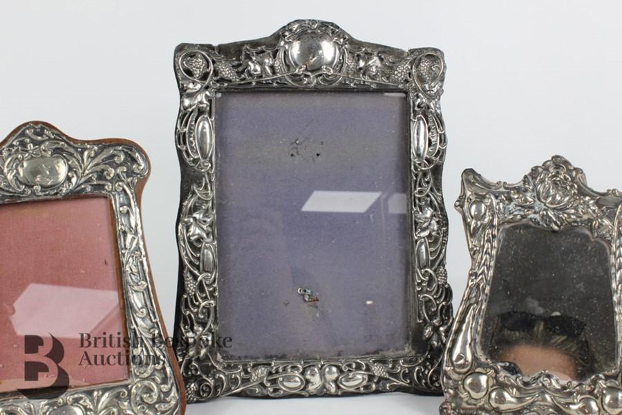 Silver Easel Back Photo Frames - Image 3 of 7