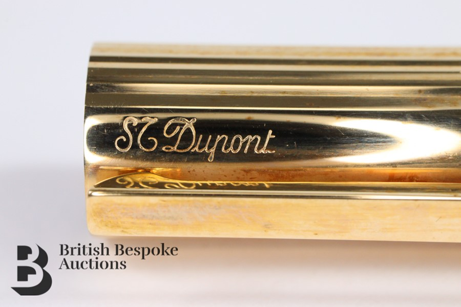 S T Dupont 18ct Gold Ink Pen - Image 3 of 3