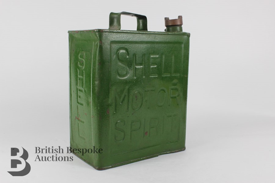 Vintage Shell Petrol Can - Image 4 of 6