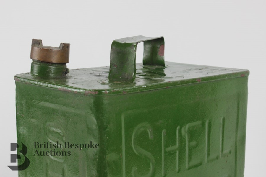 Vintage Shell Petrol Can - Image 3 of 6