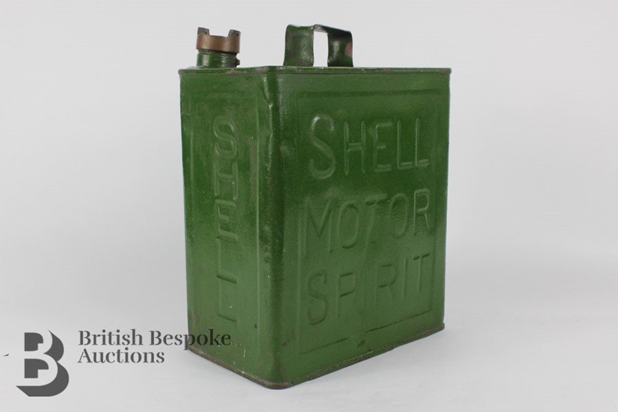 Vintage Shell Petrol Can - Image 2 of 6