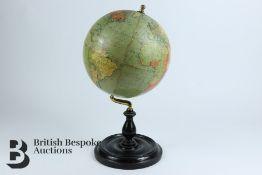 "George Phillip & Son Ltd 9"" Terrestrial Globe"