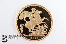 2015 Gold Proof Coin