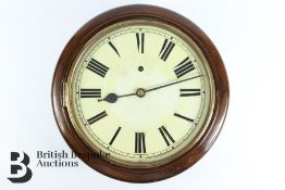 Early 20th Century German Winterhalder & Hofmeier Wall Clock