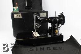 Miniature Electric Singer Sewing Machine