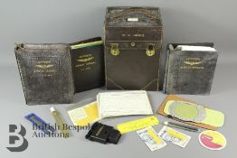 A vintage Jepco Case Model FC-3 Flight Case with contents