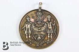 18th Century Worshipful Company of Distillers Silver Gilt Medallion