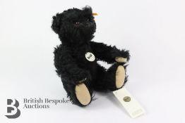 British Collector's 2001 Steiff Mohair Teddy Bear in Box