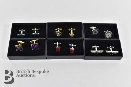 Collection of Boxed and Unused Classic Car Owners Cufflink's