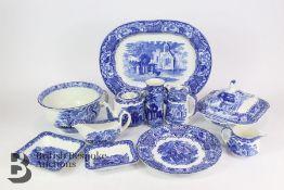George Jones Blue and White Ironstone