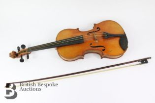 Early 20th Century French Violin
