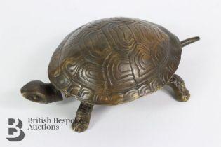 Bronze Tortoise Reception Bell