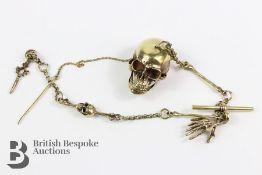 20th Century Brass Watch Chain