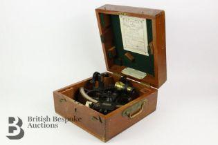 Mid 20th Century Kelvin & Hughes Boxed Sextant