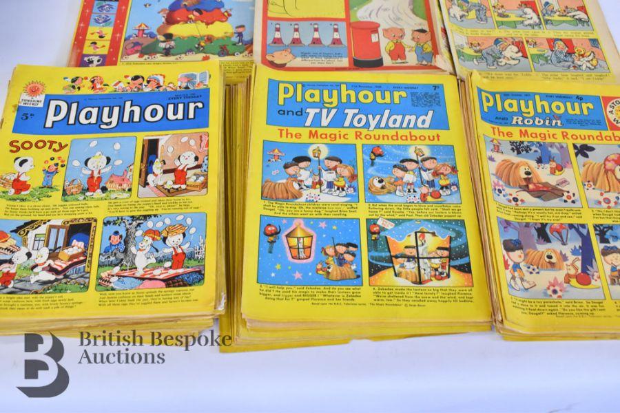 Approx. 84 Playhour/ Playhour & TV Toyland/ Playhour and Robin Comics 1957-72 - Image 2 of 6