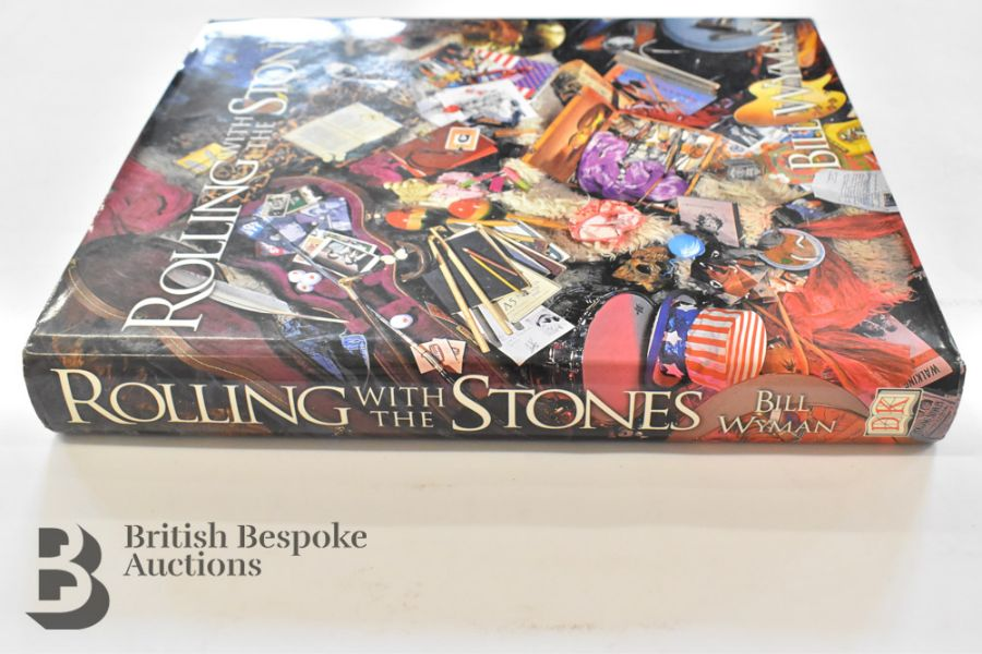 Rolling with the Stones by Bill Wyman with Richard Havers Signed by Both - Image 3 of 11