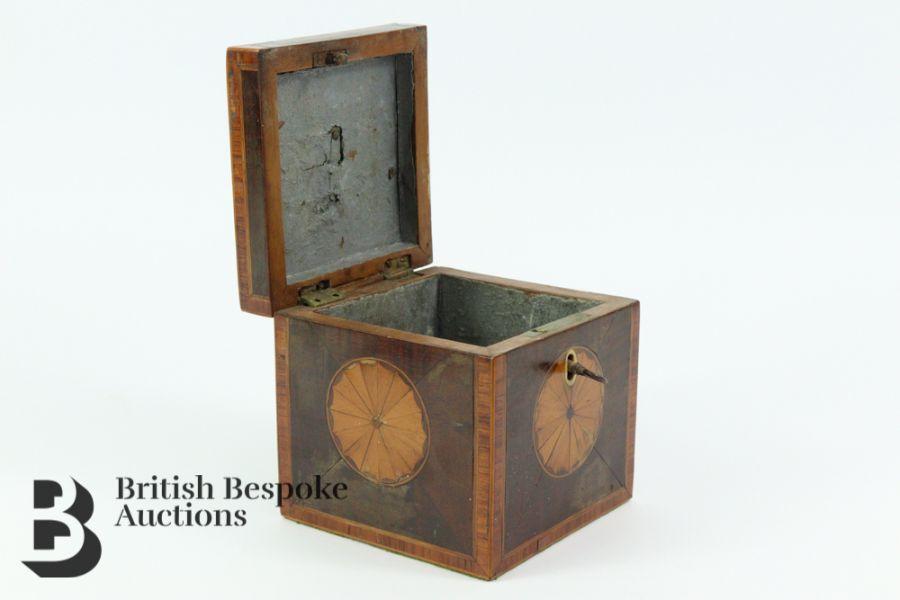 Wooden Tea Caddy - Image 3 of 3