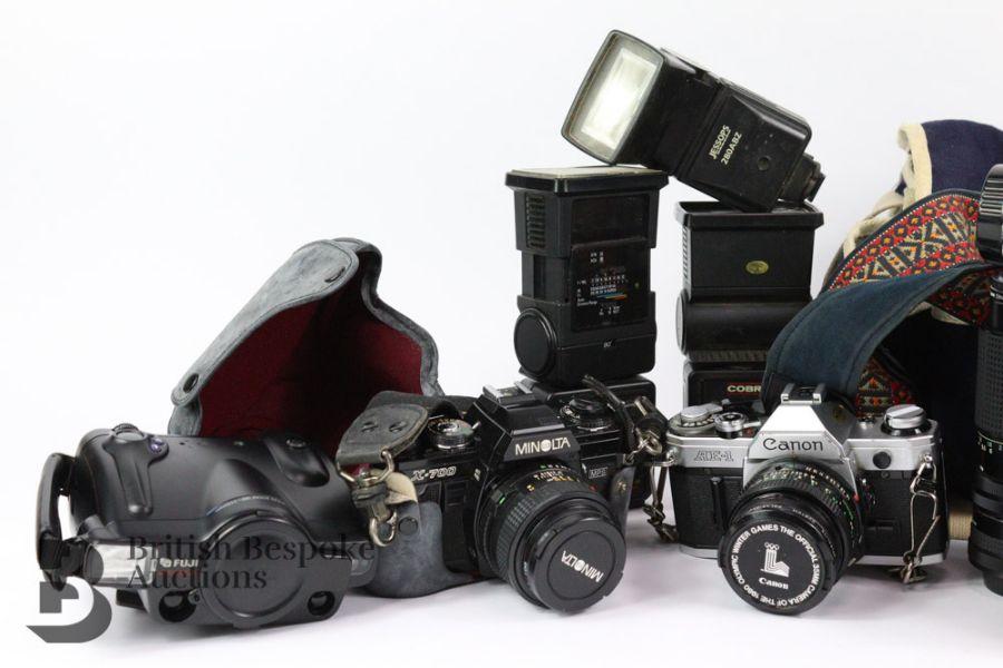 Four Cameras and Camera Equipment - Image 2 of 3