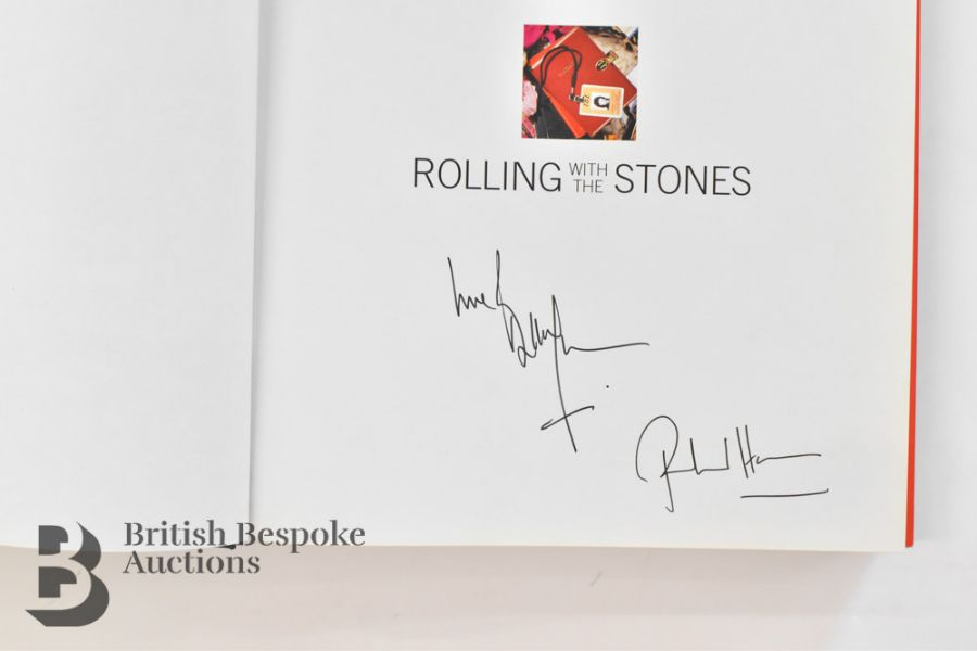 Rolling with the Stones by Bill Wyman with Richard Havers Signed by Both - Image 4 of 11