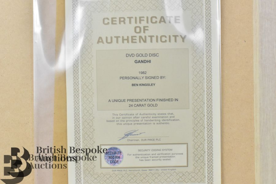 Three Signed Gold Disc Film - Image 8 of 11