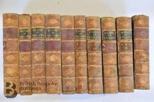 A Pictorial History of England by George L. Craik & Charles MacFarlane in 10 Volumes