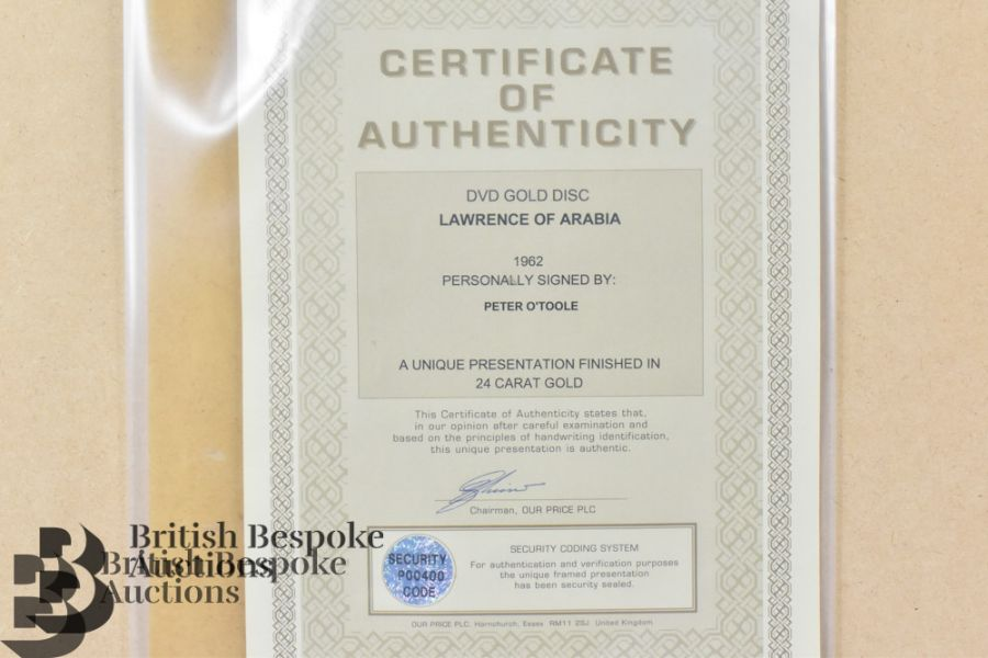 Three Signed Gold Disc Film - Image 5 of 11