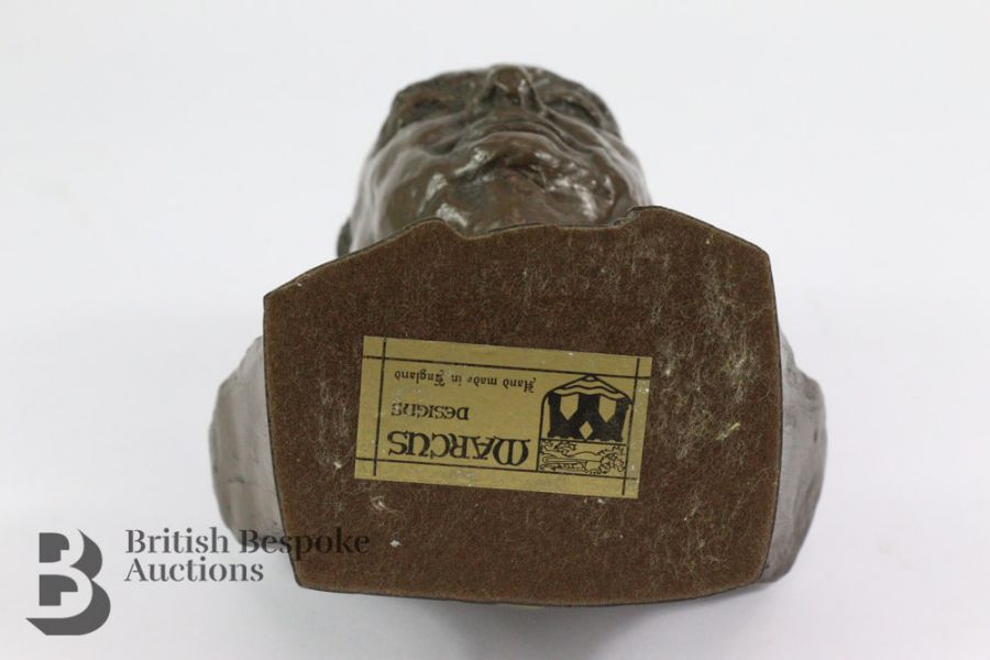 Marcus Designs - Composite Bust of Winston Churchill - Image 4 of 4