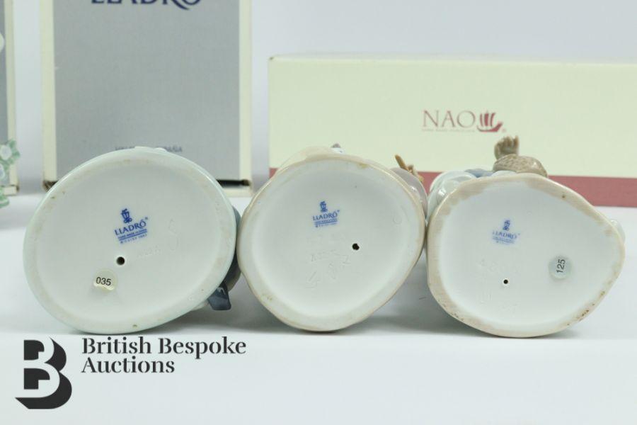 Lladro Porcelain Figurines - Image 5 of 5