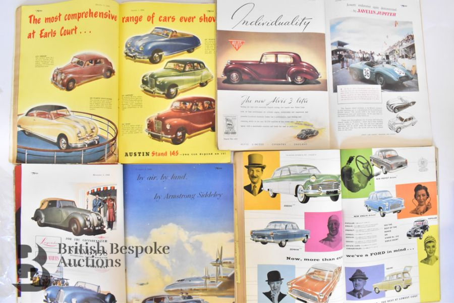 Approx. 40 Motoring Magazines 1950s-70s London Motor Show Previews - Image 2 of 10