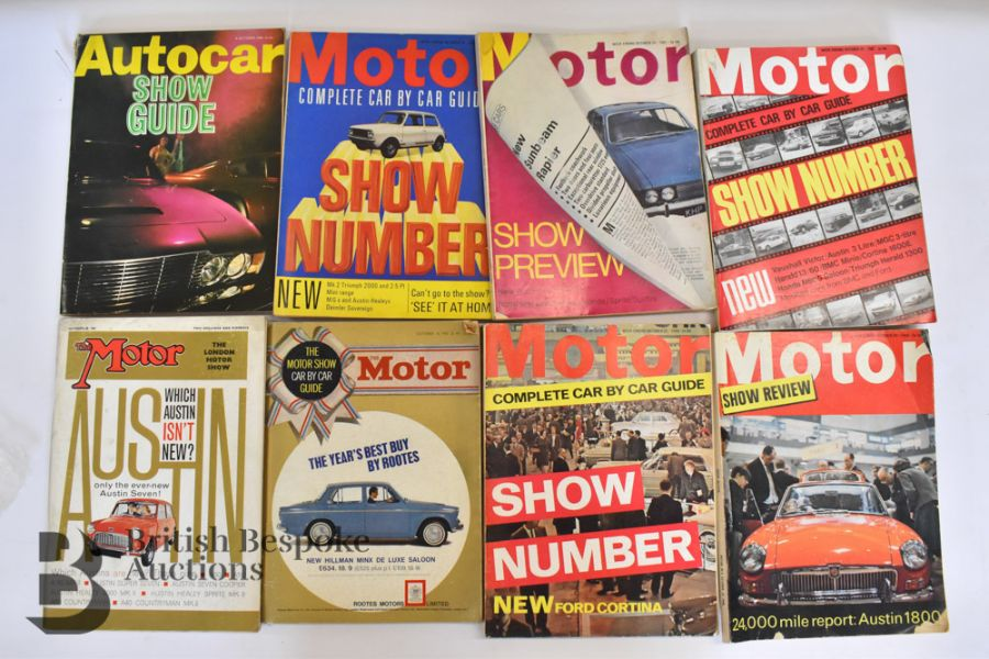 Approx. 40 Motoring Magazines 1950s-70s London Motor Show Previews - Image 5 of 10