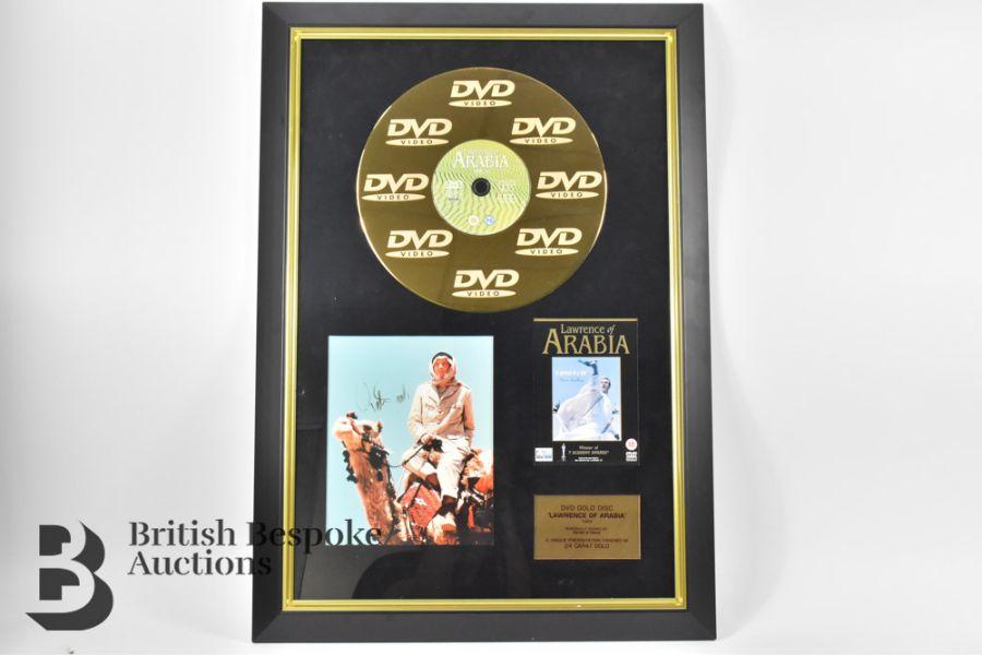 Three Signed Gold Disc Film