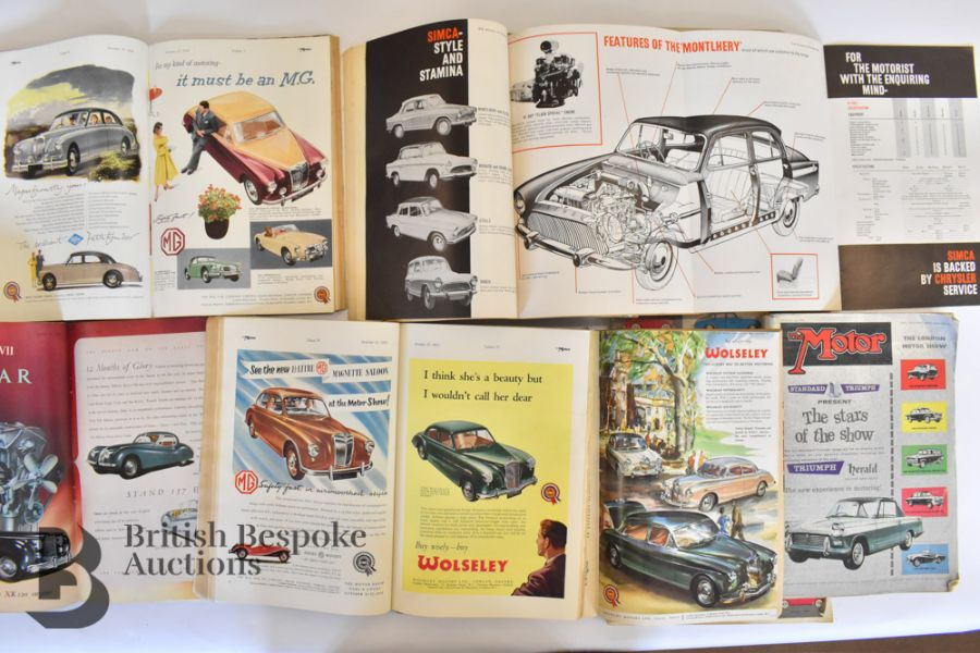 Approx. 40 Motoring Magazines 1950s-70s London Motor Show Previews - Image 4 of 10